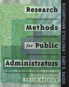 Research Methods for Public Administrators 3rd edition 9780801318504 0801318505