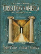 Corrections in America 8th edition 9780135980385 0135980380