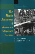Anthology of American Literature, Volume 2, Third Edition 3rd edition 9780395868232 0395868238