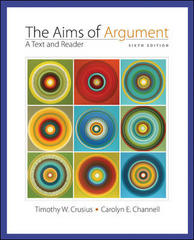 Aims of Argument: Text and Reader 6th edition 9780073326177 0073326178