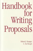 Handbook for Writing Proposals 1st edition 9780844232744 0844232742