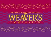 The Weaver's Companion 1st Edition 9781883010812 1883010810
