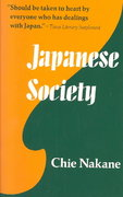 Japanese Society 1st Edition 9780520021549 0520021541