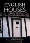 English Houses 1300-1800 1st edition 9780582772182 0582772184