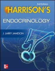 Harrison's Endocrinology, 3E 3rd Edition 9780071814867 0071814868