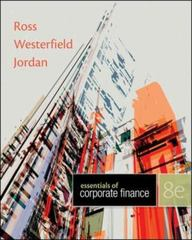 Essentials of Corporate Finance 8th Edition 9780078034756 0078034752