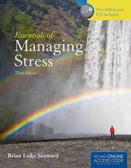 Essentials Of Managing Stress 3rd Edition 9781449698027 1449698026