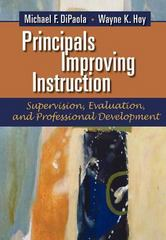 Principals Improving Instruction Supervision, Evaluation, and Professional Development 1st Edition 9781623960971 1623960975