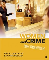 Women and Crime 1st Edition 9781452217178 1452217173