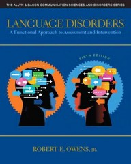 Language Disorders 6th Edition 9780132978729 0132978725
