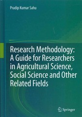 Research Methodology: A  Guide for Researchers In Agricultural Science, Social Science and Other Related Fields 1st edition 9788132210207 8132210204