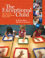 The Exceptional Child 8th Edition 9781285432373 1285432371