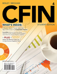 CFIN4 (with CourseMate Printed Access Card) 4th Edition 9781285434544 1285434544