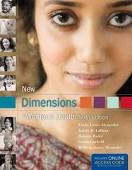 New Dimensions in Women's Health 6th Edition 9781449698133 1449698131