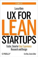 UX for Lean Startups 1st Edition 9781449334918 1449334911