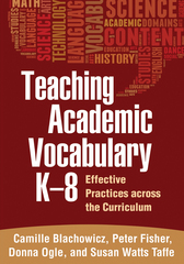 Teaching Academic Vocabulary K-8 1st Edition 9781462510290 1462510299