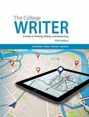 The College Writer 5th Edition 9781285437958 1285437950