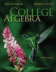 College Algebra 3rd Edition 9780073519586 0073519588