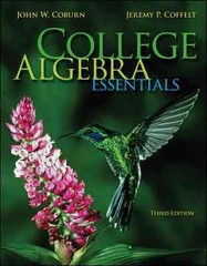 College Algebra Essentials 3rd edition 9780073519708 0073519707
