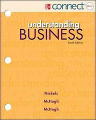 Loose-Leaf: Understanding Business with Connect Plus 10th edition 9780077924898 0077924894