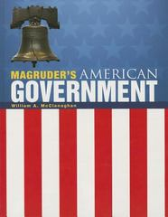 Magruder's American Government 1st Edition 9780133240825 0133240827