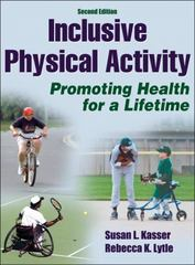 Inclusive Physical Activity 2nd Edition 9781450401869 1450401864