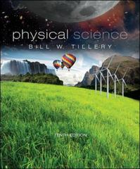 Physical Science 10th edition 9780073513898 007351389X
