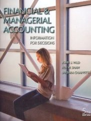 Financial and Managerial Accounting 5th Edition 9780078025600 0078025605