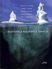 Auditing &amp. Assurance Services w/ACL cd + Connect Plus 5th edition 9780077630294 0077630297