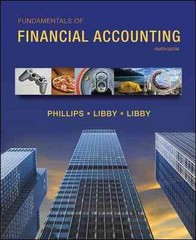 Fundamentals of Financial Accounting with Connect Plus 4th Edition 9780077757854 0077757858