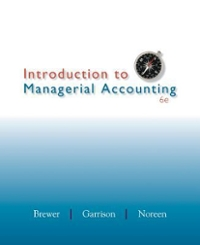 Loose Leaf Introduction to Managerial Accounting with Connect Plus 6th Edition 9780077924447 0077924444