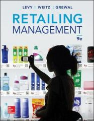 Retailing Management 9th Edition 9780078028991 007802899X