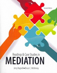 Readings and Case Studies in Mediation 2nd Edition 9781465210081 1465210083
