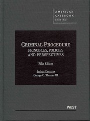 Criminal Procedure 5th Edition 9780314279484 0314279482
