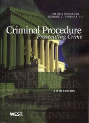 Criminal Procedure 5th Edition 9780314279507 0314279504