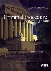 Criminal Procedure 5th Edition 9780314279514 0314279512