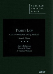 Family Law 7th edition 9780314280251 0314280251
