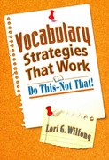 Vocabulary Strategies That Work 1st Edition 9781596672291 1596672293