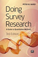 Doing Survey Research 3rd Edition 9781612053066 1612053068