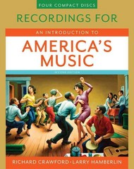 Recordings for An Introduction to America's Music, Second Edition 2nd Edition 9780393921403 0393921409