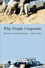 Why People Cooperate 1st Edition 9780691158006 0691158002