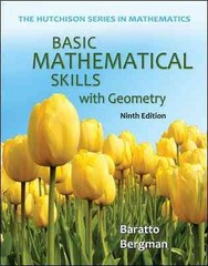 Basic Mathematical Skills with Geometry 9th edition 9780073384443 0073384445
