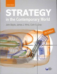 Strategy in the Contemporary World 4th Edition 9780191039232 0191039233