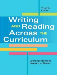 Writing and Reading Across the Curriculum with NEW MyCompLab with eText -- Access Card Package 12th edition 9780321890177 0321890175