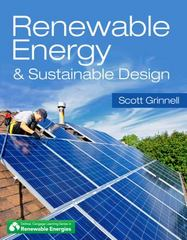 Renewable Energy & Sustainable Design 1st Edition 9781111542702 1111542708