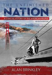 The Unfinished Nation 7th Edition 9780073406985 0073406988