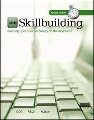 MP SKILLBUILDING W/SOFTWARE REGISTRATION CARD 4th Edition 9780077776589 0077776585