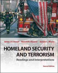 Homeland Security and Terrorism: Readings and Interpretations 2nd Edition 9780078026294 0078026296