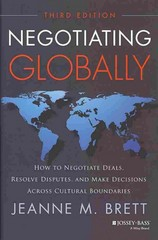 Negotiating Globally 3rd Edition 9781118602614 1118602617