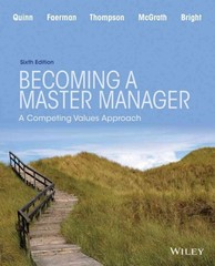 Becoming a Master Manager 6th Edition 9781119034438 1119034434